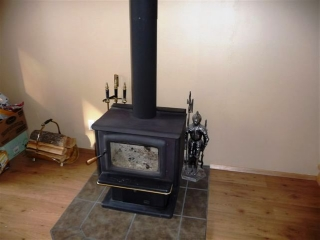 WETT certified airtight wood stove