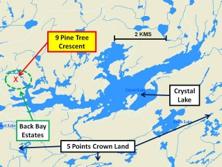 Crystal Lake map